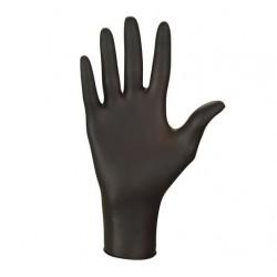 Rękawice czarne Nitrylex PF...